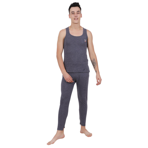 Sleeveless Mens Thermal Set