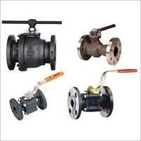 Ball Valve Flange 2 Piece