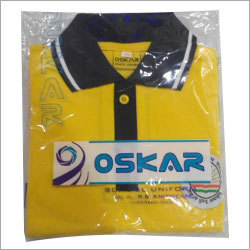 School Uniform Yellow T Shirt