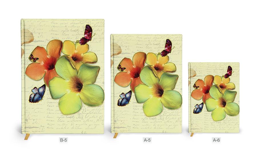 Flower Note Book