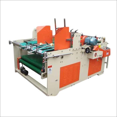 Semi Auto Flap Gluing Machine