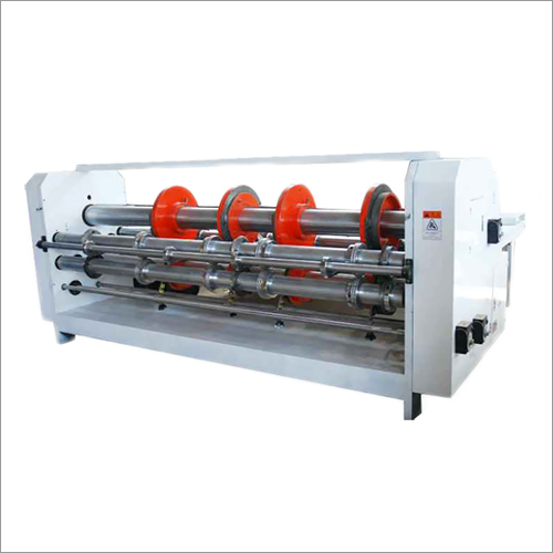 Combined Creasing, Cutting & Slotting Machine