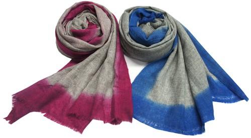 Ombre Pashmina shawls