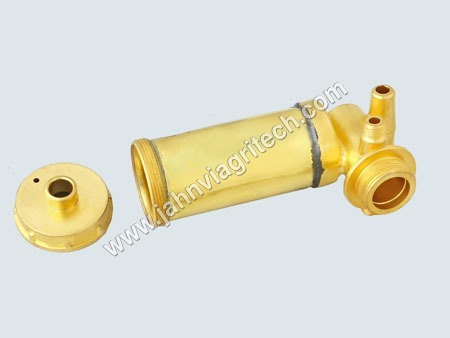 Brass Pump Barrel Assembly