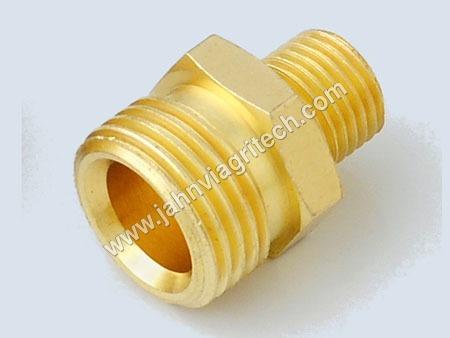 Brass Reducer Hex Nipple