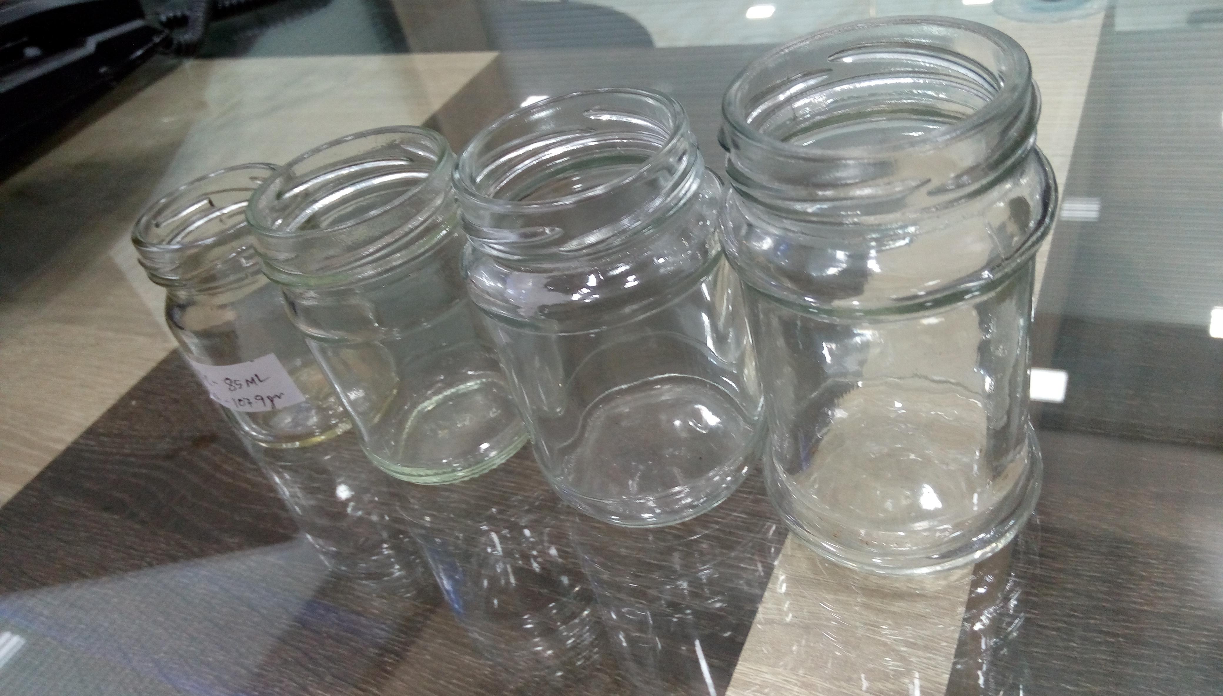 Square Honey Jar