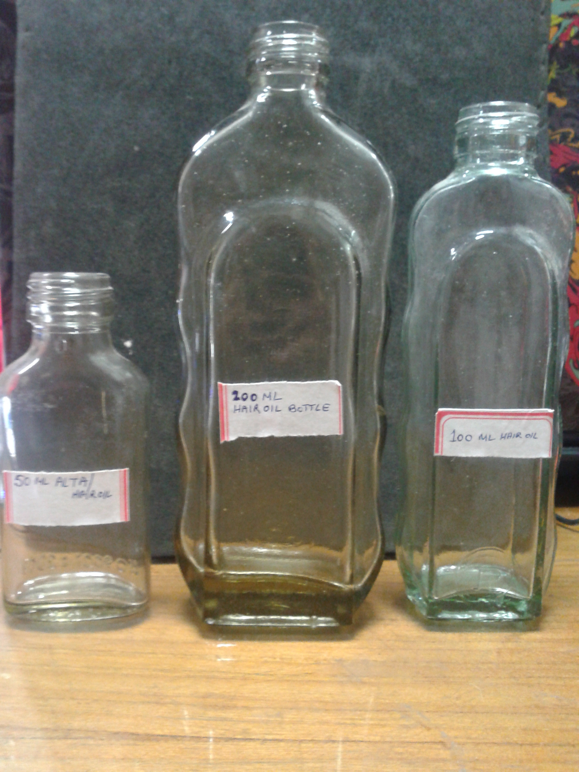 Hair Oil Bottles