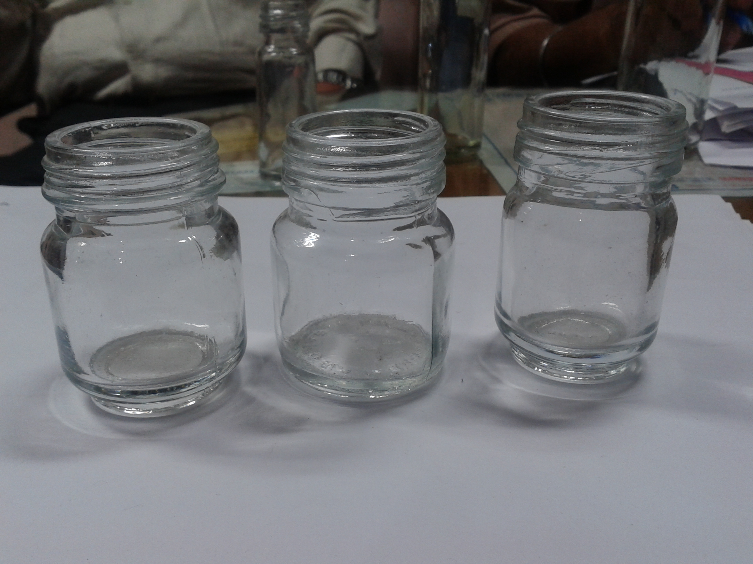 Cream Jar