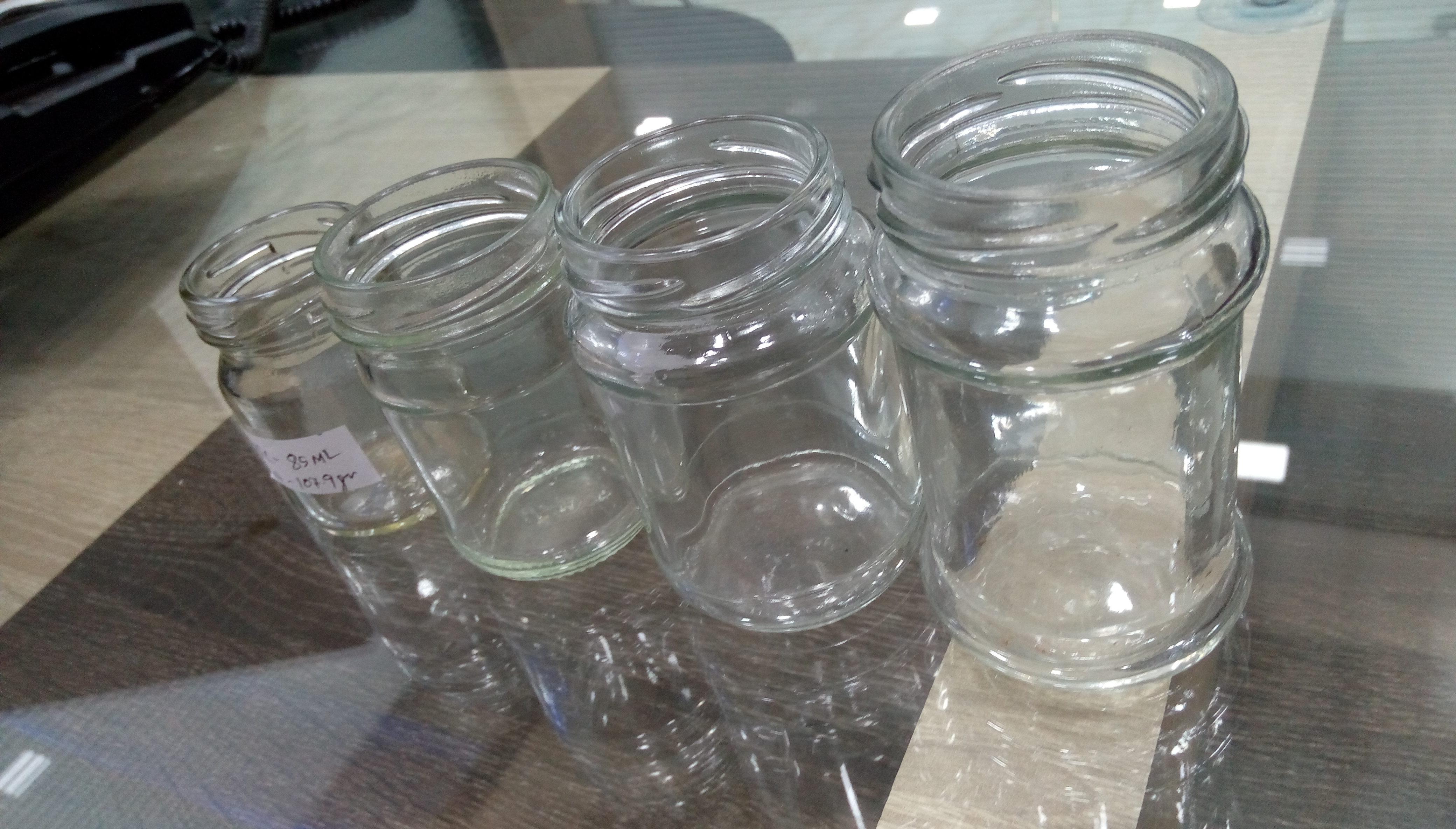 Pickle Glass Jars