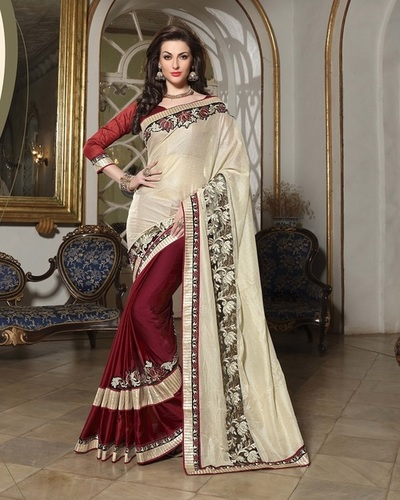 Fancy Designer Latest Exclusive Party Wear Saree