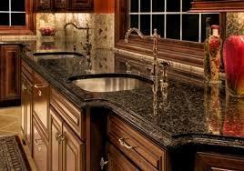 Green Granite Kitchen Top