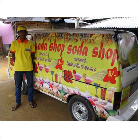 Mobile Soda Dispensing Machine