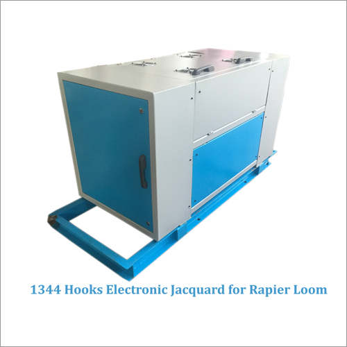 1344 Hooks Electronic Jacquard For Rapier Loom