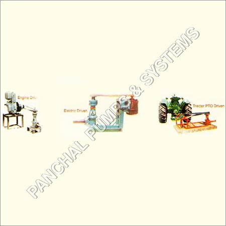 Irrigation Pump - Multiple Drive