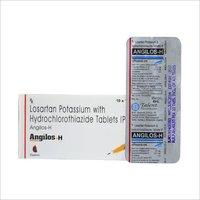 Losartan Pot. 50 mg + Hydrochlorthiazide 12.5 mg