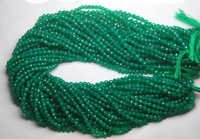 Green Onyx Faceted Round