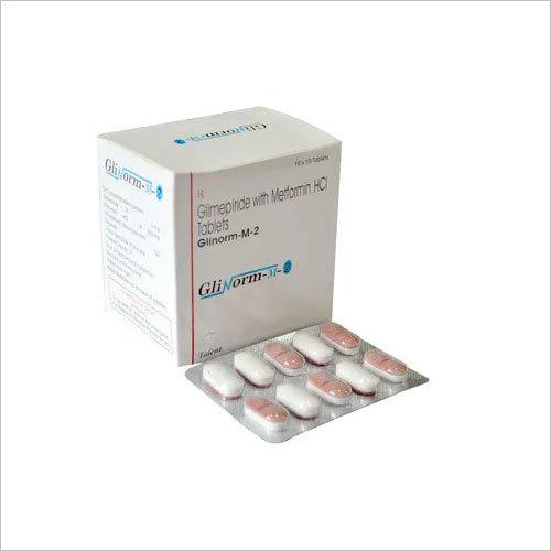 Glimepiride2 mg + Metformine 500 mg (SR)