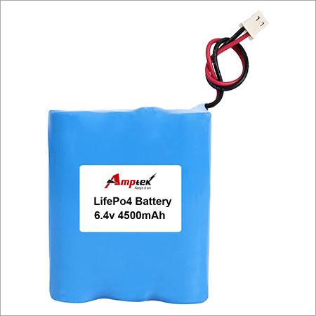 Li-ion Battery Pack 6.4v 4500 mah