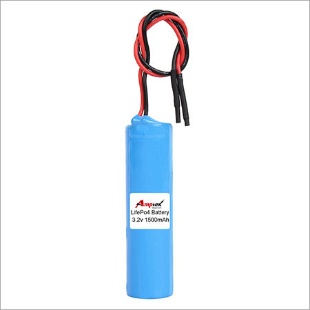 Lithium Iron Phosphate Battery Pack 3.2v 1500mah
