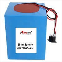 Li-ion Battery Pack 48v 24000mah