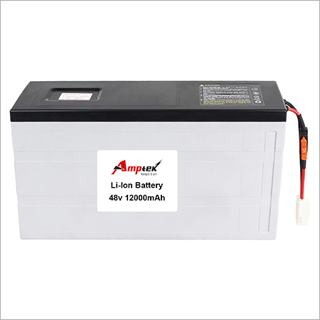 Li-ion Battery Pack 48v 12000mah