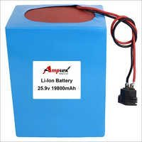 Li-ion Battery Pack 25.9v 19800mah