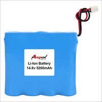Li-ion Battery Pack 14.8v 5200mah