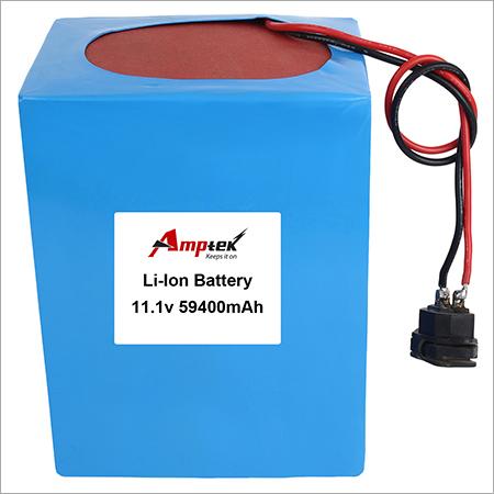 Li-ion Battery Pack 11.1v 59400mah