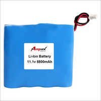 Li-ion Battery Pack 11.1v 8800mah