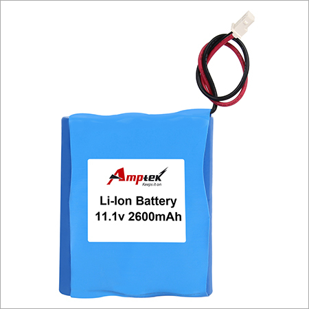 Li-ion Battery Pack 11.1v 2600mah