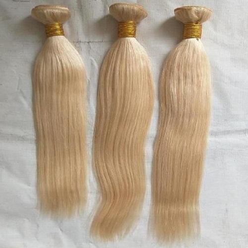 Two tone blonde human hair