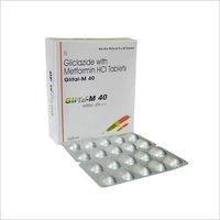 Gliclazide 40 mg + Metformine 500 mg