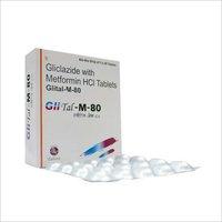 Gliclazide 80 mg + Metformine 500 mg