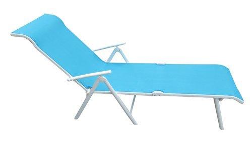 Folding Sun bed Beach Lounger Chair