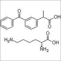Ketoprofen lysinate salt