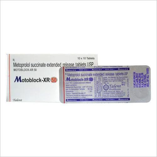 Metoprolol SUCCINATE 50 mg (ER)