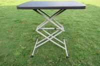 Adjustable Variable Height outdoor folding table