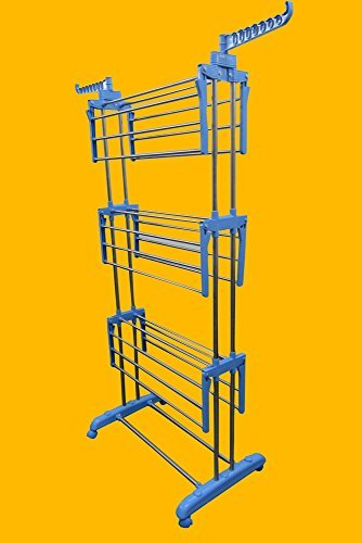 Portable Light weight Stainless Steel Cloth Drying Stand Rack