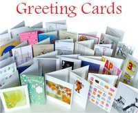 Customized printing on greeting cards