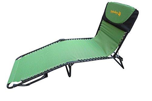 Portable Outdoor Beach Garden Lounger Chair cum Bed