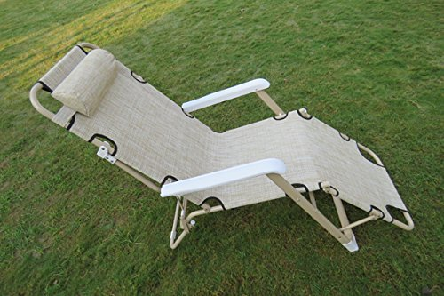Reclining Outdoor Side Relax Chair Cum Bed
