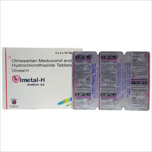 Olmesartan 20 mg + Hydrochlorothiazide 12.5 mg