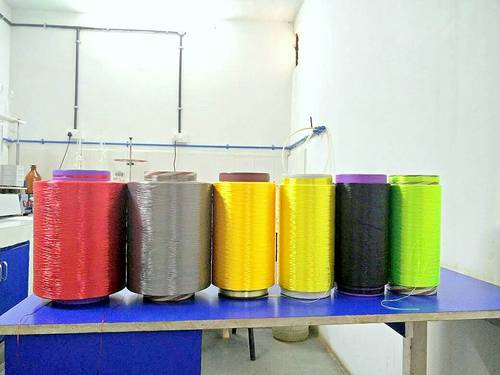 Dope Dyed Polyester High Tenacity Yarn