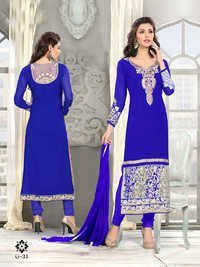 Fancy Designer Exclusive Latest Georgette Salwar Suit-IB-1067-34