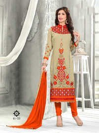 Fancy Designer Exclusive Latest Georgette Salwar Suit