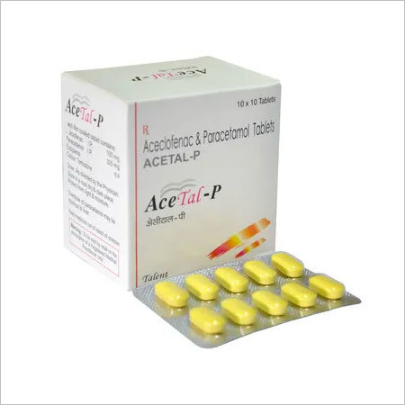 Aceclofenac 100 mg + Paracetamol 500 mg