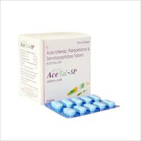 Aceclofenac 100 mg + Paracetamol 500 mg + Serratiopeptidase 10 mg