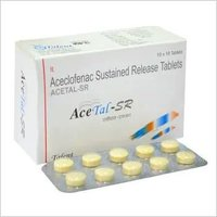 Aceclofenac Sustained Release Tablets