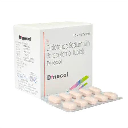 Diclofenac Sodium 50mg+Paracetamol 500mg
