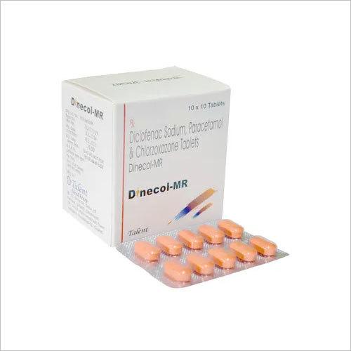 Diclofenac Sodium 50 mg + Paracetamol 325 mg + Chlorzoxazone 250 mg
